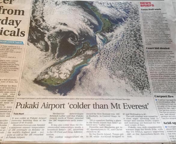 ニュージーランド新聞