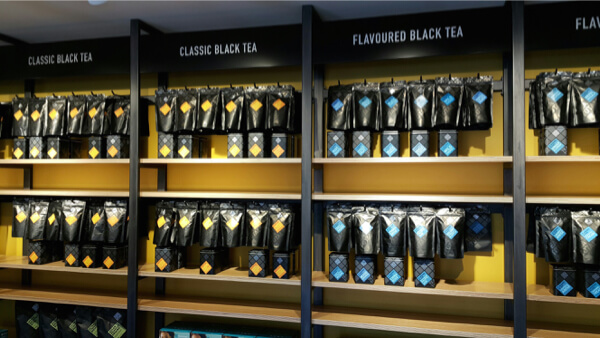 Tea Total オークランドショップ
