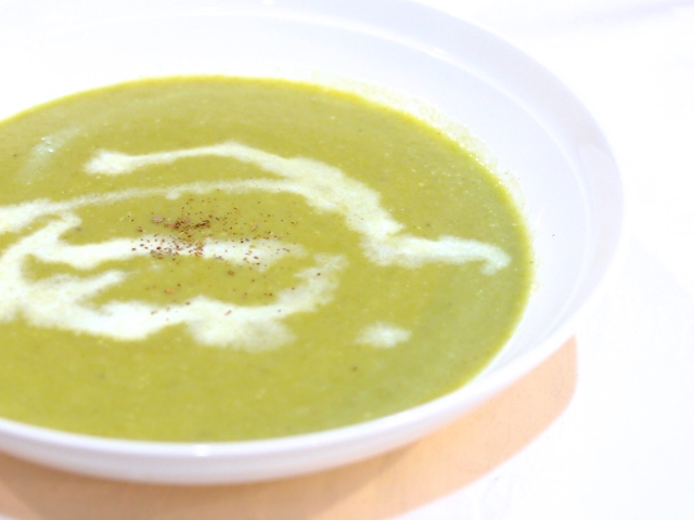 ネギとジャガイモのスープ
