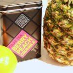 【レシピ】フルーツティーのベリークランブルとパイナップルの絶妙なハーモニー♪のフルーツスムージー
