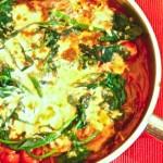 イタリアン風ポークとクリスピーポテト モッツァレラとトマトが美味!ライスブランオイルでアレンジも♪
